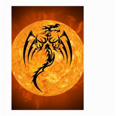 Dragon Fire Monster Creature Small Garden Flag (Two Sides)