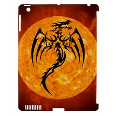 Dragon Fire Monster Creature Apple iPad 3/4 Hardshell Case (Compatible with Smart Cover)