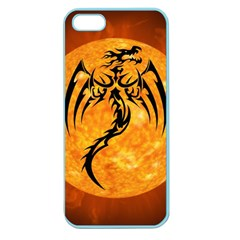 Dragon Fire Monster Creature Apple Seamless iPhone 5 Case (Color)