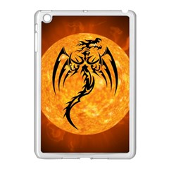 Dragon Fire Monster Creature Apple iPad Mini Case (White)