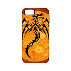Dragon Fire Monster Creature Apple iPhone 5 Classic Hardshell Case (PC+Silicone)