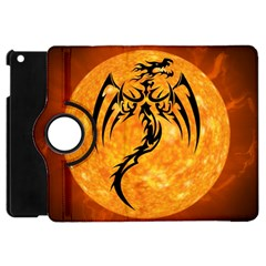 Dragon Fire Monster Creature Apple iPad Mini Flip 360 Case