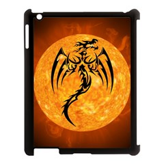 Dragon Fire Monster Creature Apple iPad 3/4 Case (Black)