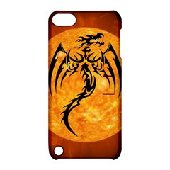 Dragon Fire Monster Creature Apple iPod Touch 5 Hardshell Case with Stand