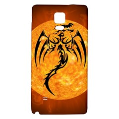 Dragon Fire Monster Creature Galaxy Note 4 Back Case