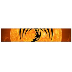 Dragon Fire Monster Creature Flano Scarf (large)