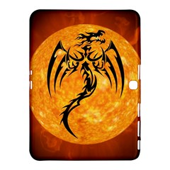 Dragon Fire Monster Creature Samsung Galaxy Tab 4 (10.1 ) Hardshell Case
