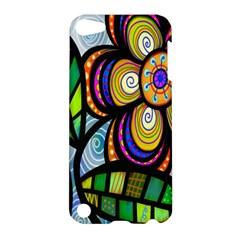 Folk Art Flower Apple iPod Touch 5 Hardshell Case