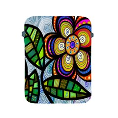 Folk Art Flower Apple iPad 2/3/4 Protective Soft Cases