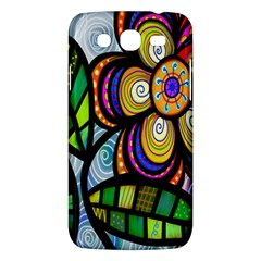 Folk Art Flower Samsung Galaxy Mega 5.8 I9152 Hardshell Case
