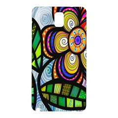 Folk Art Flower Samsung Galaxy Note 3 N9005 Hardshell Back Case