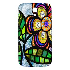 Folk Art Flower Samsung Galaxy Mega I9200 Hardshell Back Case
