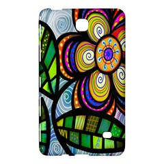 Folk Art Flower Samsung Galaxy Tab 4 (7 ) Hardshell Case