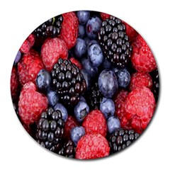 Forest Fruit Round Mousepads