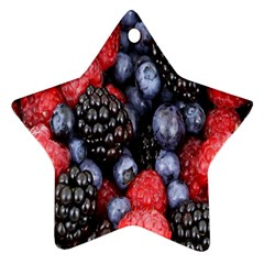 Forest Fruit Ornament (Star)