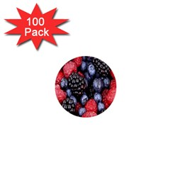 Forest Fruit 1  Mini Buttons (100 pack)