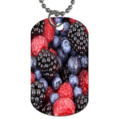 Forest Fruit Dog Tag (Two Sides)