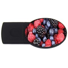 Forest Fruit USB Flash Drive Oval (4 GB)