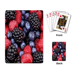 Forest Fruit Playing Card