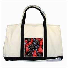 Forest Fruit Two Tone Tote Bag