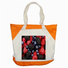 Forest Fruit Accent Tote Bag