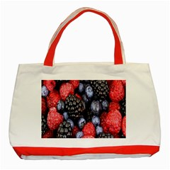 Forest Fruit Classic Tote Bag (Red)