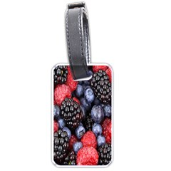 Forest Fruit Luggage Tags (One Side)