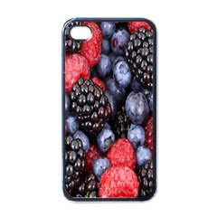 Forest Fruit Apple iPhone 4 Case (Black)
