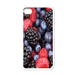 Forest Fruit Apple iPhone 4 Case (White)