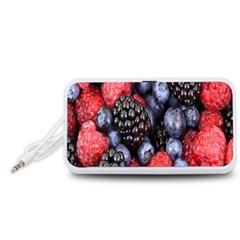 Forest Fruit Portable Speaker (White)