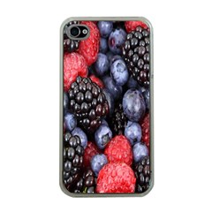 Forest Fruit Apple iPhone 4 Case (Clear)