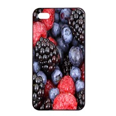 Forest Fruit Apple iPhone 4/4s Seamless Case (Black)