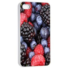 Forest Fruit Apple iPhone 4/4s Seamless Case (White)