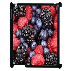 Forest Fruit Apple iPad 2 Case (Black)