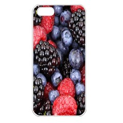 Forest Fruit Apple iPhone 5 Seamless Case (White)
