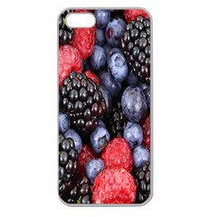 Forest Fruit Apple Seamless iPhone 5 Case (Clear)