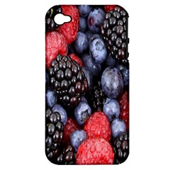 Forest Fruit Apple iPhone 4/4S Hardshell Case (PC+Silicone)