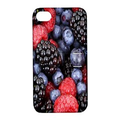 Forest Fruit Apple iPhone 4/4S Hardshell Case with Stand