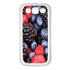 Forest Fruit Samsung Galaxy S3 Back Case (White)
