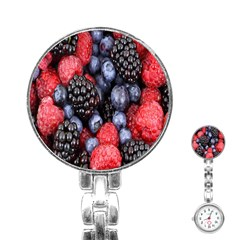 Forest Fruit Stainless Steel Nurses Watch