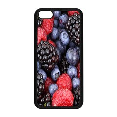 Forest Fruit Apple Iphone 5c Seamless Case (black)