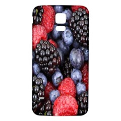 Forest Fruit Samsung Galaxy S5 Back Case (white)