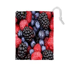 Forest Fruit Drawstring Pouches (large)