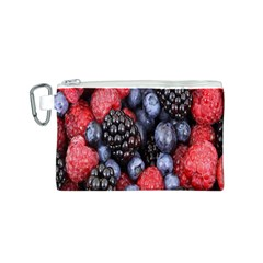Forest Fruit Canvas Cosmetic Bag (S)