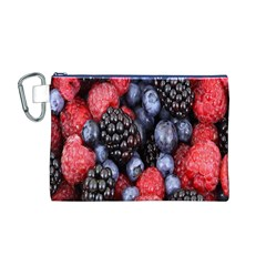 Forest Fruit Canvas Cosmetic Bag (m)