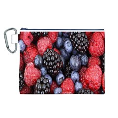 Forest Fruit Canvas Cosmetic Bag (L)