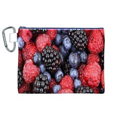 Forest Fruit Canvas Cosmetic Bag (XL)