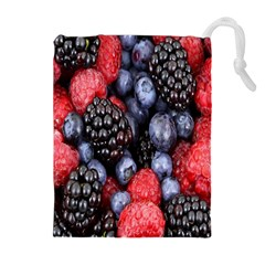 Forest Fruit Drawstring Pouches (extra Large)