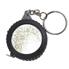Flowers Background Leaf Leaves Measuring Tapes