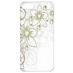 Flowers Background Leaf Leaves Apple iPhone 5 Classic Hardshell Case